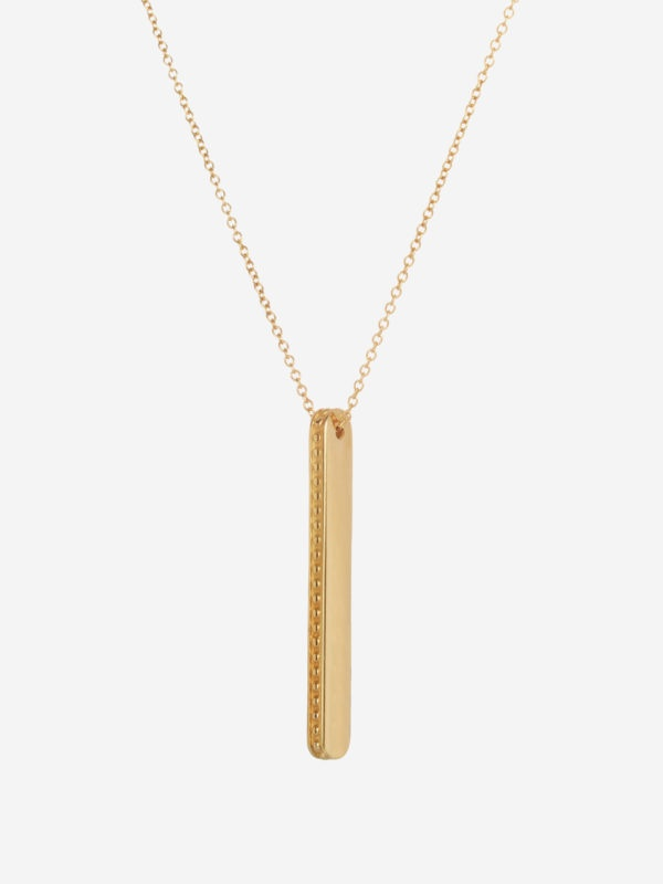 Collier Barre Teseo Or